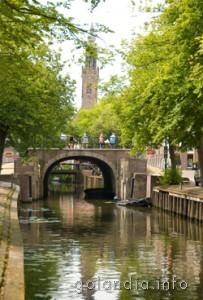 Эдам, мост через канал